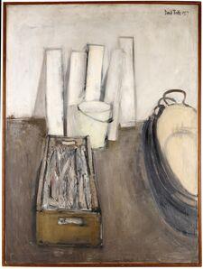 David Tindle, 'Still life with a fish', 1957