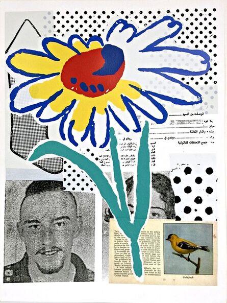 Donald Baechler, 'The Benefit Flower ', 1988