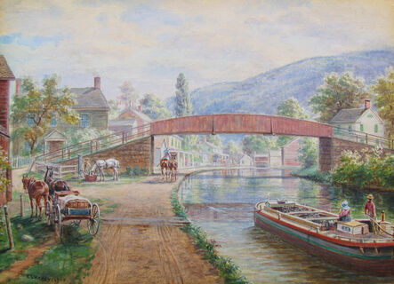 Edward Lamson Henry, 'Delaware & Hudson Canal, Ellenville NY', 1900