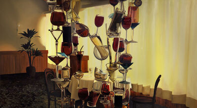 Ariel Cusnir, 'Red Wine', 2015