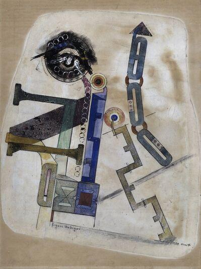 Max Ernst, 'Figure ambigue', 1919/1920
