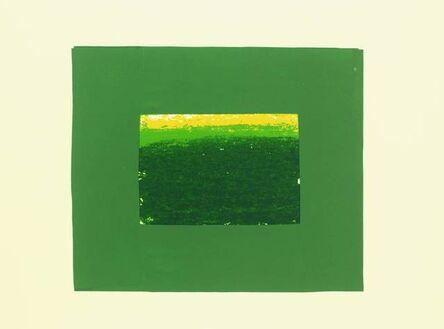 Howard Hodgkin, 'Indian View K', 1971