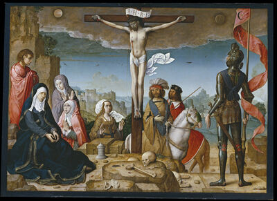 Juan de Flandes, 'The Crucifixion', 1509-1518