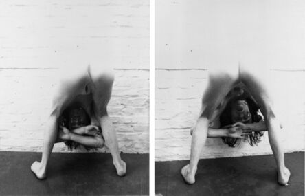 Jürgen Klauke, 'Einblick/Ausblick', 1971