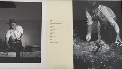 Jesse Amado, 'I love Beuys #2', 1997