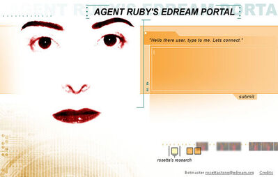 Lynn Hershman Leeson, 'Agent Ruby (detail graphic)', 1996-2002
