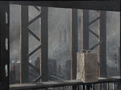 Norman Lundin, 'RAILWAY TRESTLE, LOWER LEVEL, GROCERIES', 2015
