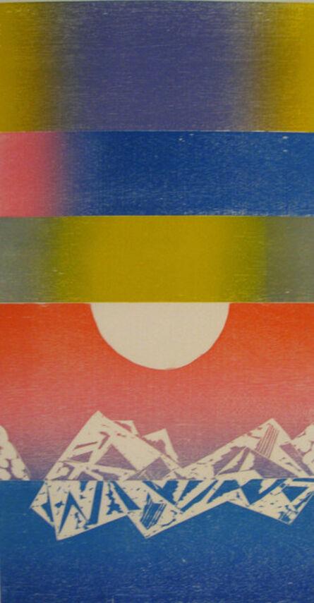 Naoko Matsubara, 'Arctic Twilight B', 1987