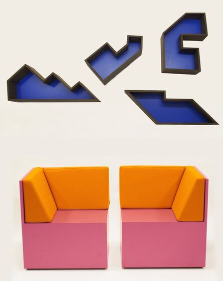 RO/LU, 'A Set for Making Love (After Guy de Cointet)', 2012