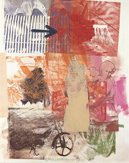 Robert Rauschenberg, 'Untitled (Arrow)', 1984