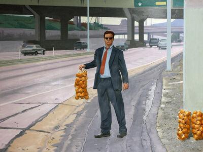 Gregg Gibbs, 'Orange Seller', 2001