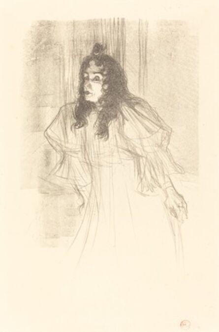 Henri de Toulouse-Lautrec, 'Miss May Belfort Bare-Headed (Miss May Belfort en cheveux)', 1895