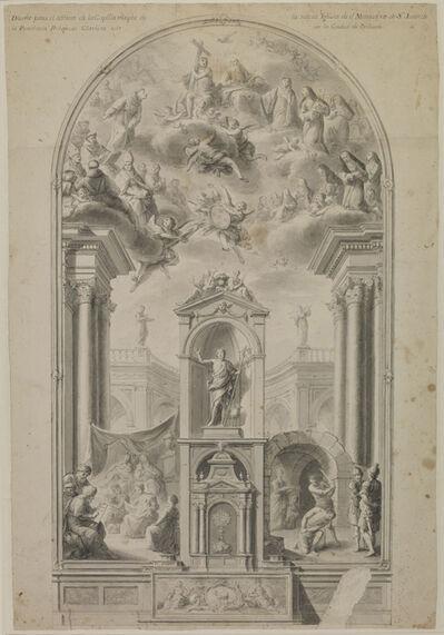 Antonio Villanueva, 'Study for an altar wall with scenes from life of St John the Baptist', 1780