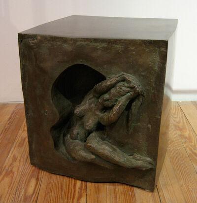 Philip and Kelvin LaVerne, 'Galatea Cube with Figure', ca. 1960