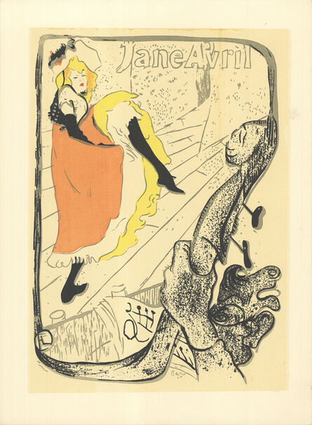 Henri de Toulouse-Lautrec, 'Jane Avril', 1960-1970