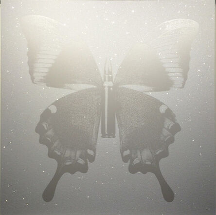 Rubem Robierb, 'Pearl Bullet Fly on White ', 20143
