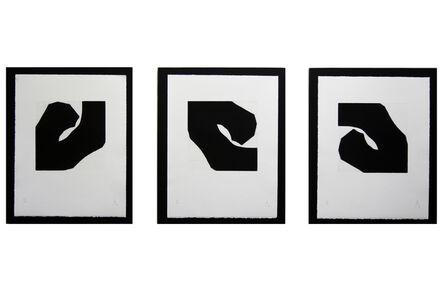 Pierre Muckensturm, 'Triptych 183s01061 - Original aquatint', 2018