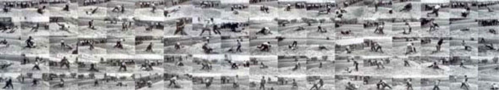 He Yunchang 何云昌, 'Wrestling', 2001