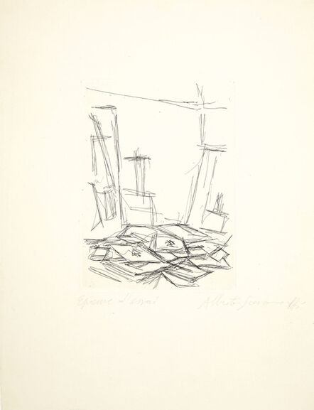 Alberto Giacometti, 'L'Atelier, from Le Moteur blanc', 1956