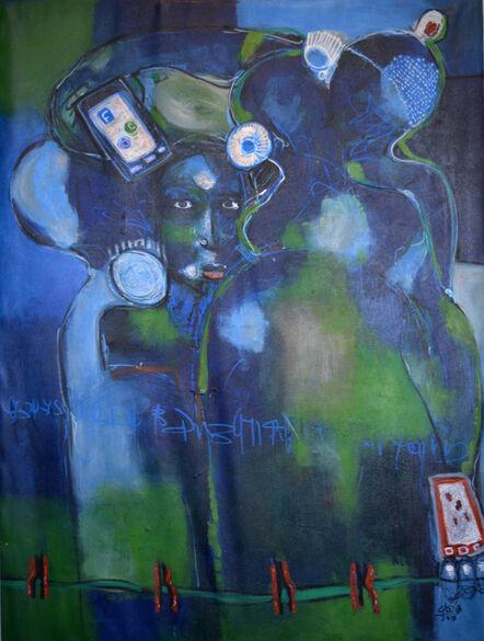 Casimir Bationo, 'La Fille du Quartier (The Girl From the Neighborhood)', 2018