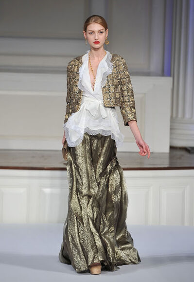 Oscar de la Renta, 'Evening ensemble; jacket and skirt'