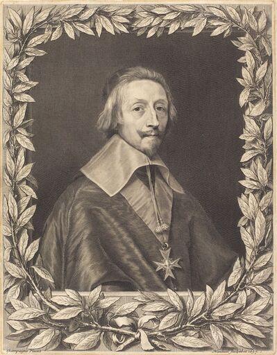 Robert Nanteuil after Philippe de Champaigne, 'Cardinal Richelieu', 1657