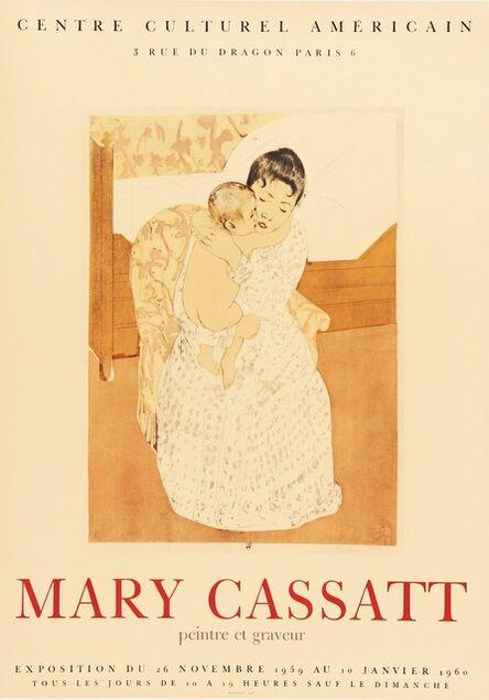 Mary Cassatt, 'Mary Cassatt, Peintre et Graveur, Centre Culturel Americain', 1959