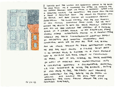 Edwin Schlossberg, '12.29.12', 2012