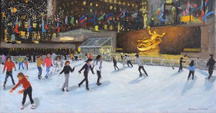 Andrew Macara, 'Evening, Rockefeller Ice Rink, New York'