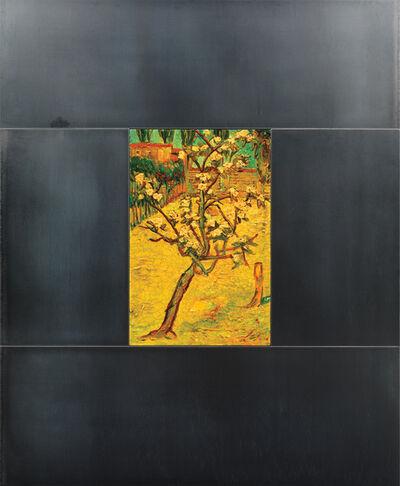 David Bierk, 'Solitary Tree, Locked in Migration, to Van Gogh', 1993