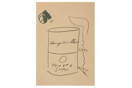 Andy Warhol, 'Tomato Soup Can (Sketch)'