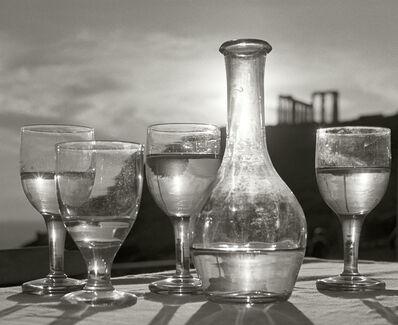 Herbert List, 'Taverna below the Poseidon Temple. Attica, Greece.', 1952