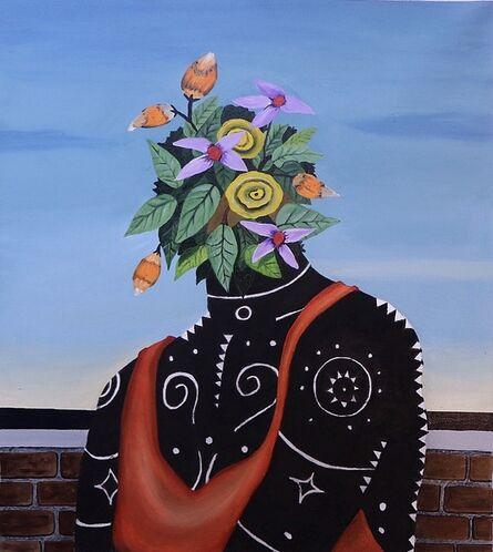 Kelechi Nwaneri, 'Portrait of a Lady', 2020