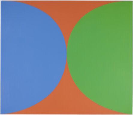 Ellsworth Kelly, 'Blue Green Red II', 1965