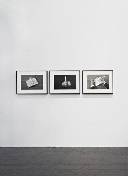 Mounir Fatmi, 'Calligraphy of Fire', 2015