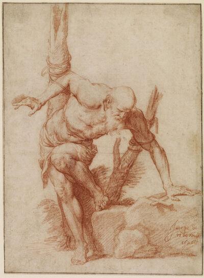 Jusepe de Ribera, 'St. Albert tied to a tree', 1626