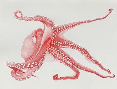 Hannah Hanlon, 'Red Octopus', 2020