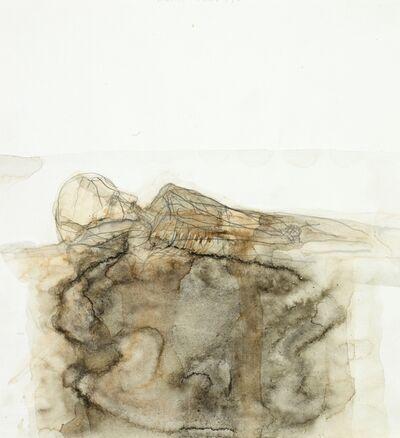 Walter Pichler, 'Kopf und Schulter liegend', 1981