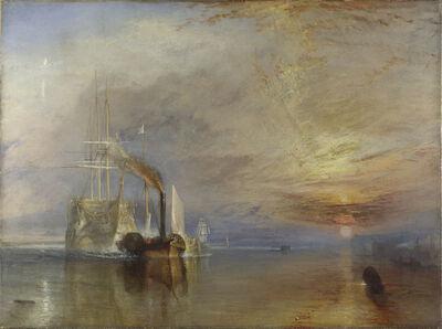 J. M. W. Turner, 'The Fighting Temeraire', 1839