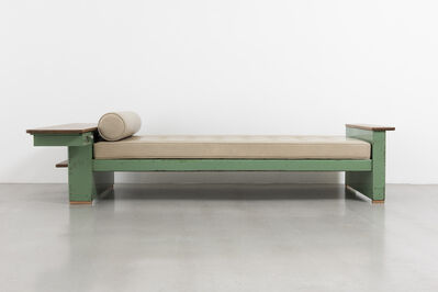 Jean Prouvé, 'Cité bed no. 456, variant with bedhead forming a drawer', 1951