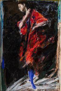 Ennio Calabria, 'Studio per figura'