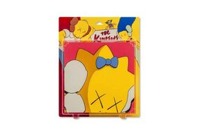 KAWS, 'Untitled (Kimpsons), Package Painting Series', 2001