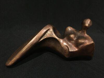 HILDE DE BRUYNE, 'Reclining figure', 2012