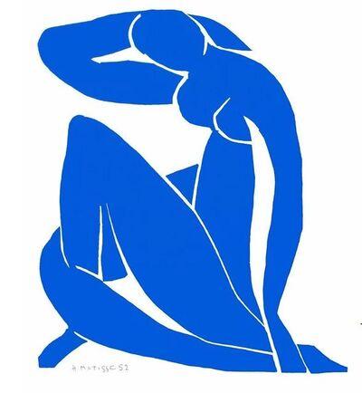 After Henri Matisse, 'Nu Bleu II', 2007