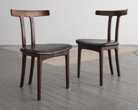 Ole Wanscher, 'Pair of T-Chairs', 1957