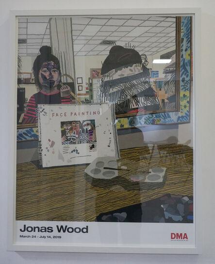 Jonas Wood, 'face painting poster', 2014