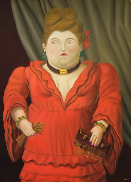 Fernando Botero, 'Society Woman', 2003