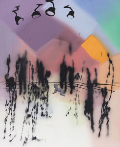 Tala Madani, 'Spectral Disco', 2020