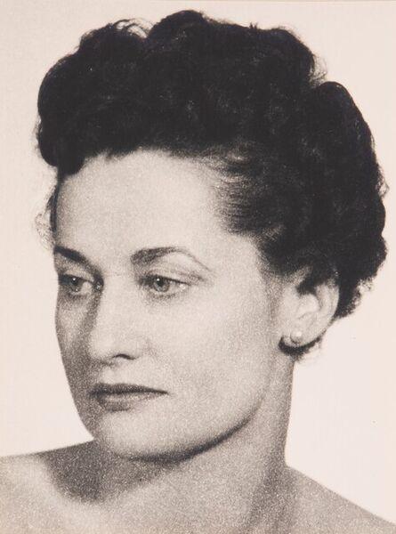 Man Ray, 'Untitled (Woman's portrait)'