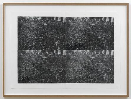 Asier Mendizabal, 'Rotation (Moire, Rome)', 2012